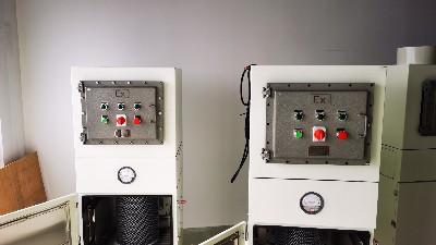 移动式脉冲防爆除尘器