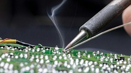 电子焊锡烟雾净化器