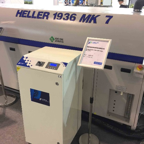 HELLER Reflow Oven with Pure-Air Fume Extractor-2