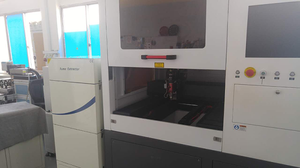 PA-1000FS with Epilogo Laser