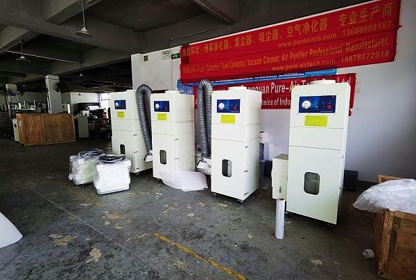 工业抛光打磨集尘器